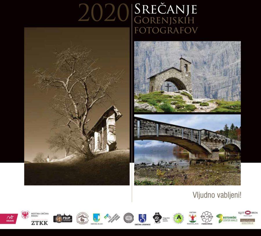 Vabilo za Srečanje gorenjskih fotografov 2020